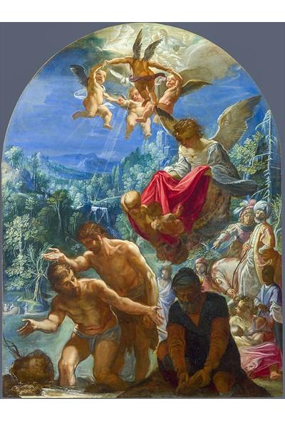 Çerçevelet The Baptism of Christ 25 x 35 cm