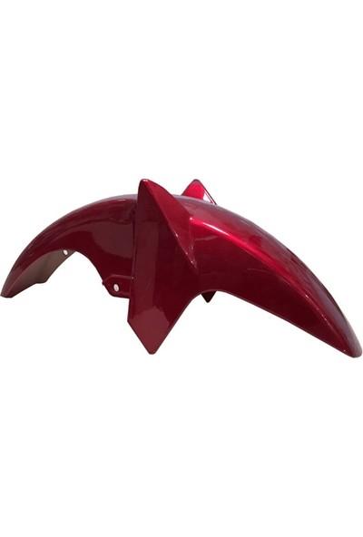 Yamaha Ybr 125 Esd Kırmızı Ön Çamurluk