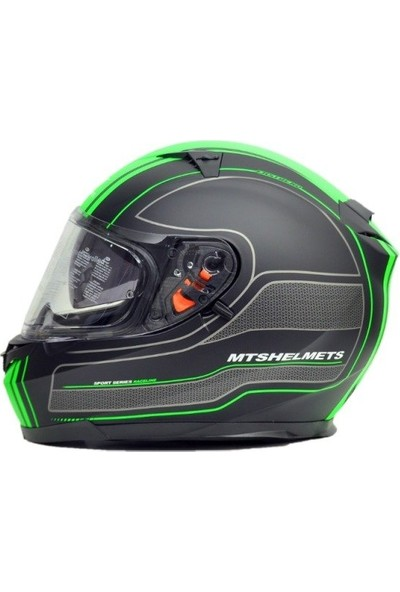 Motosiklet Kaskı Mts Blade Mat Green