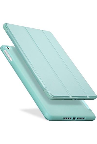 Fujimax ipad Air 3/Pro 10.5'' Darbe Emici Yumuşak Silikon Smart Kılıf - Turkuaz