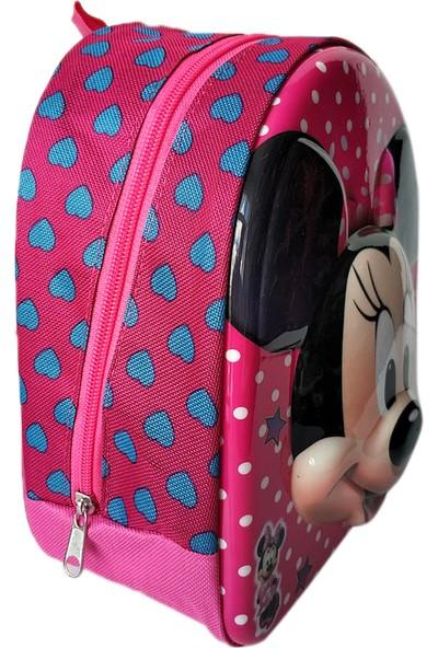 Redpoloshop Anaokulu Öncesi Sırt Çantası XS Ebat Minnie Mouse 23 x 20 x 10 cm
