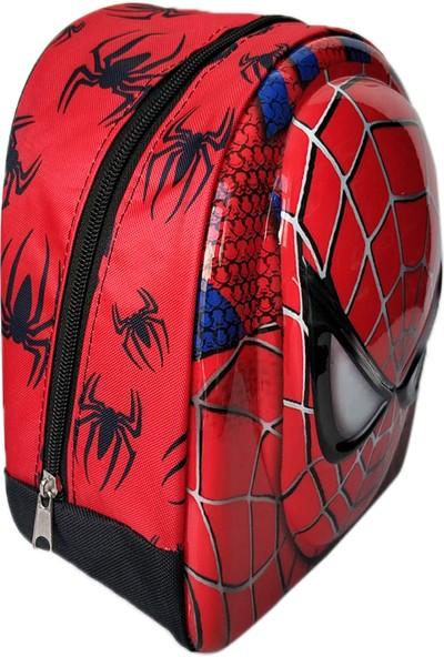 Redpoloshop Anaokulu Çekçekli Çanta Mini Sırt Çantası Seti Spider