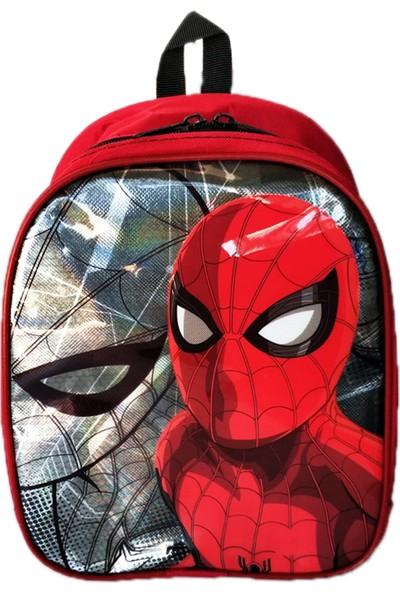 Redpoloshop Anaokulu Sırt Çantası Parlak Baskılı Mini 5D Spiderman