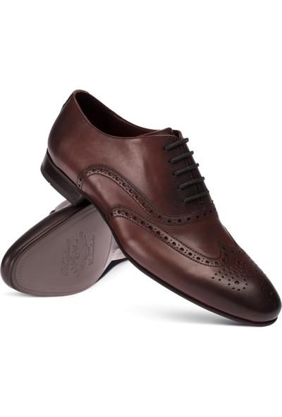 Deery Deri Bordo Klasik Erkek Ayakkabı