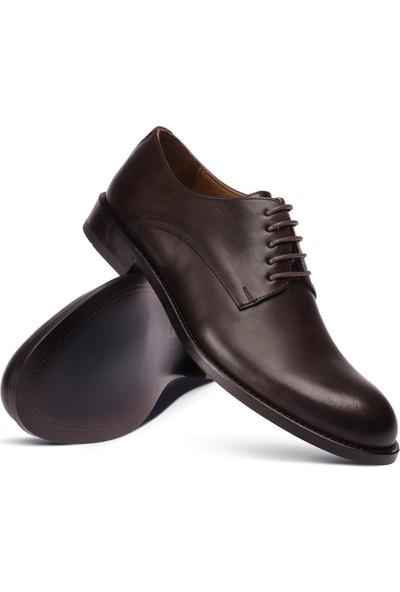 Deery Deri Kahverengi Klasik Erkek Ayakkabı