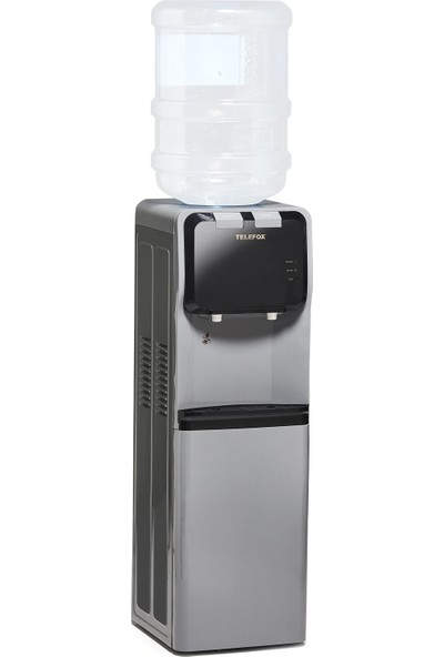 Telefox SN301 Su Sebili Mat Gri Ilık - Soğuk