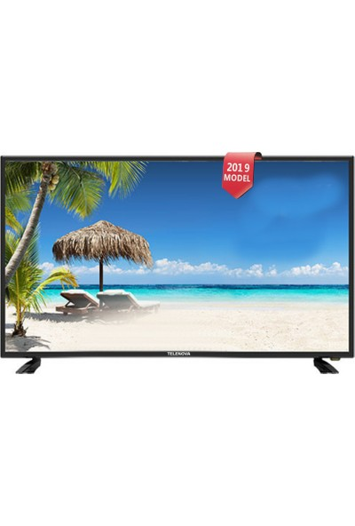 "Telenova 40"" 101 Ekran Uydu Alıcılı Full HD LED TV + Smart Air Kumanda"