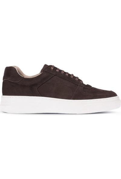 Deery Nubuk Kahverengi Sneaker Erkek Ayakkabı