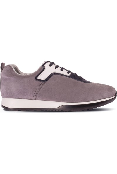 Deery Süet Gri Erkek Sneaker