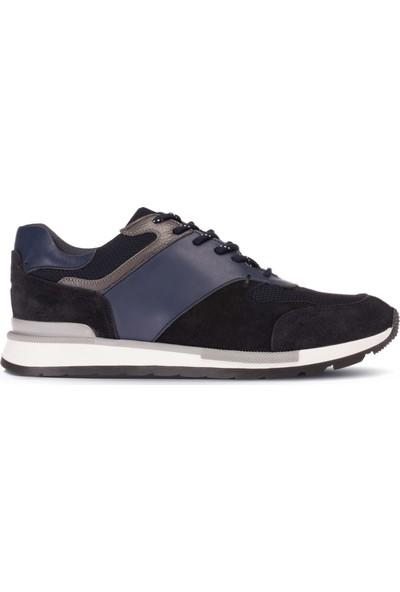 Deery Süet Lacivert Sneaker Erkek Ayakkabı