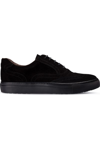 Deery Süet Siyah Sneaker Erkek Ayakkabı