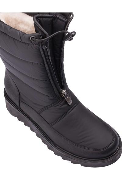 Deery Siyah Kadın Kar Botu