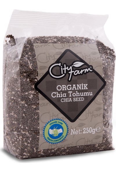 City Farm Organik Chia Tohumu - 250GR.
