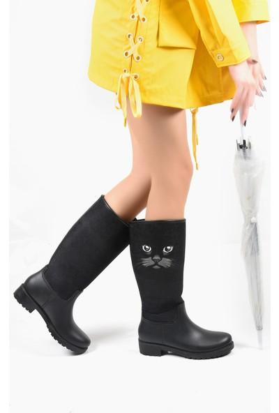 Sapin 34001 Kadın Yağmur Çizmesi
