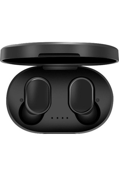 A6S Bluetooth Kulaklık 5.0 Kablosuz Çift Mikrofonlu Powerbank Kutulu