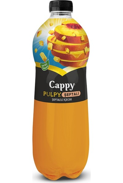 Cappy Pulpy Şeftali 330 ml 12'li