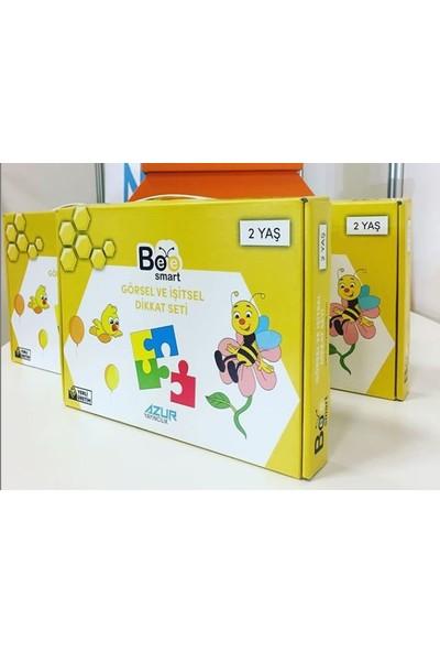 Bee Smart Görsel ve İşitsel Dikkati Güçlendirme Seti 2 Yaş Azur Yayıncılık