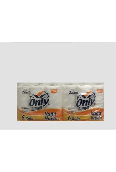 Only Kağıt Havlu Havlu Kağıdı 2 Kat 24'Lü 6'Lı