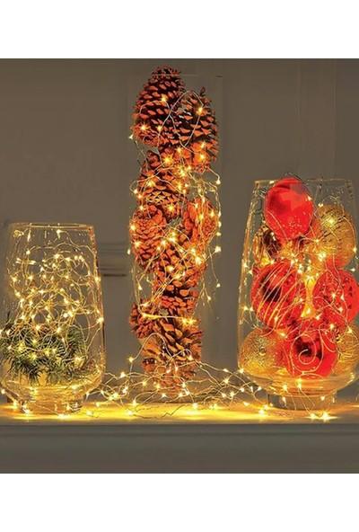 Perilüks Ip LED Yıldız Dekoratif Yılbaşı Süs Işık 2 M