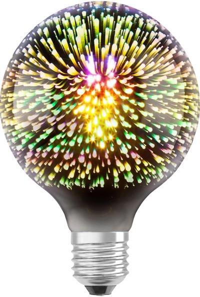 Osram 1906 Led Unıverse 3W Normal Duy Sarı Işık Dekoratif Ampul