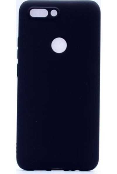 Kaltel Gsm Casper Via F2 Mat Premier Silikon Kılıf + USB Kablo + Cam Ekran Koruyucu - Siyah