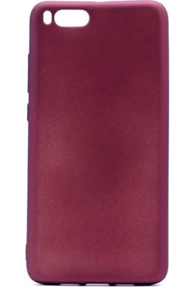 Kaltel Gsm Xiaomi Mi Note 3 Mat Premier Silikon Kılıf + USB Kablo + Nano Ekran Koruyucu - Mürdüm