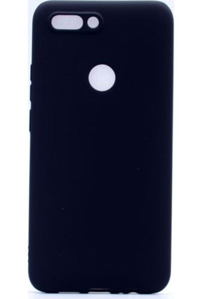 Kaltel Gsm Casper Via F2 Mat Premier Silikon Kılıf + USB Kablo + Nano Ekran Koruyucu - Siyah