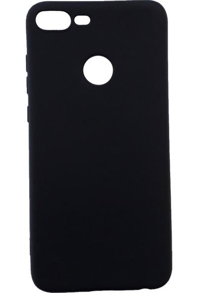 Kaltel Gsm Huawei Honor 9 Lite Mat Premier Silikon Kılıf + USB Kablo - Siyah