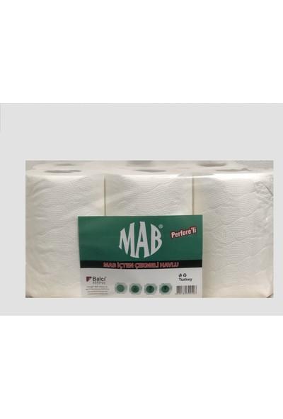 Mab Kağıt Havlu 21 Cm İçten Çekmeli Havlu 6'Lı