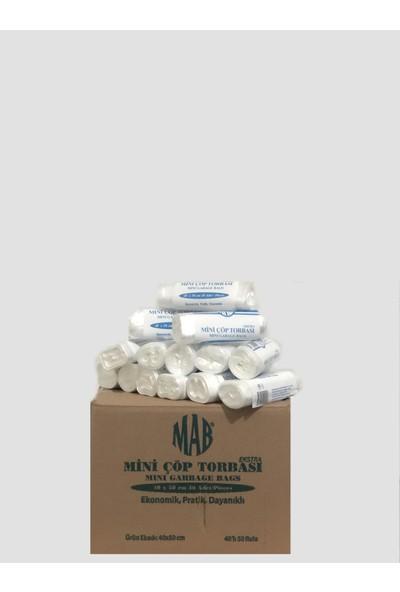 Mab Çöp Torbası Çöp Torbası 40*50 Cm 40'Lı 50 Rulo