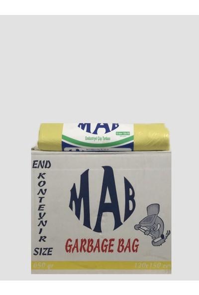 Mab Çöp Torbası 10'Lu Geniş Hantal 120*150 Cm 650 gr