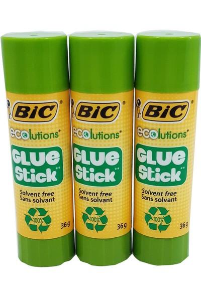Bic 36 gr Stick Yapıştırıcı 3'lü Set