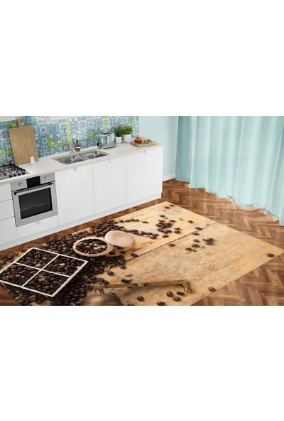 Homessa Cold Coffee 150 x 230 cm Mutfak Halısı