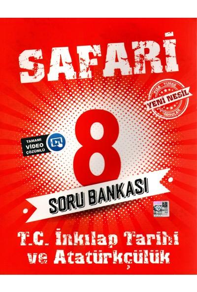 Kırmızı Beyaz Yayınları 8. Sınıf Safari Inkılap Tarihi Soru Bankası