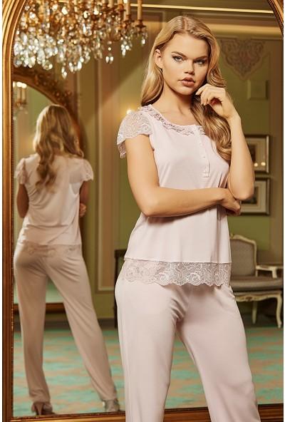 Barina 786 Kadın Cotton Hamile / Lohusa Üçlü Pijama Seti