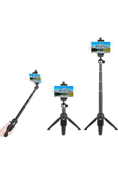 Yunteng YT-9928 Selfie Kumandalı Tripod Monopod