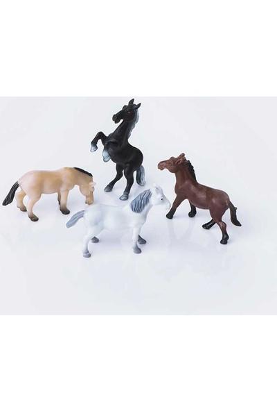 Eshel Maket Yarış Atı Figürü 1/50 3 'lü