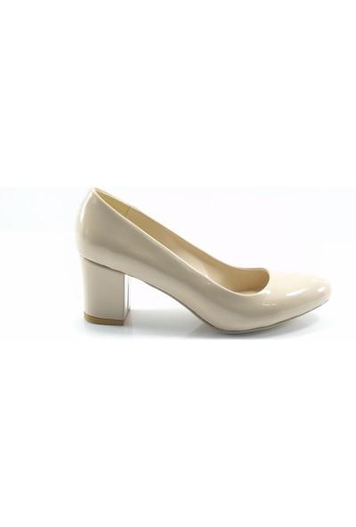 Stella Di More By Ercan Ten Rugan Büyük Numara Kadın Topuklu Ayakkabı