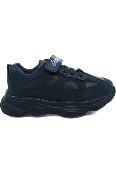 Lafonten La Fonten Lacivert Hafif Kalın Taban Çocuk Sneaker