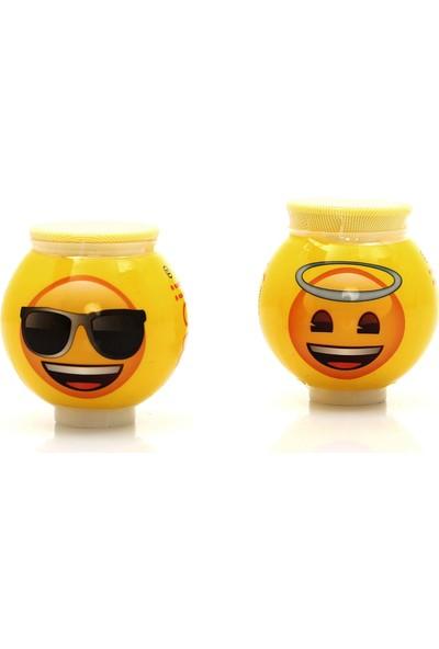 Emoji Çim Adam 2 Adet Gözlüklü ve Hareli