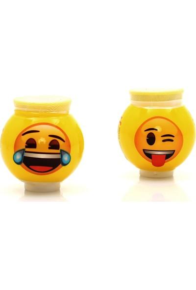Emoji Çim Adam 2 Adet Gülen ve Dil Çıkaran