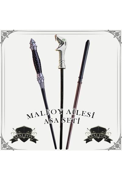 Büyücü Sokağı Malfoy Ailesi Asa Seti - Harry Potter