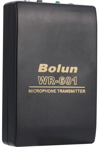 Bolun WR601 Kablosuz Yaka Mikrofon Seti