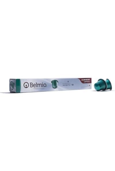 Belmio Rıstretto Nespresso Uyumlu Ithal Alüminyum Kapsül 10'lu