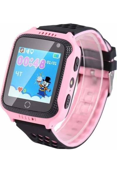 Pufwin GPS Akıllı Çocuk Takip Saati - Pembe-Siyah