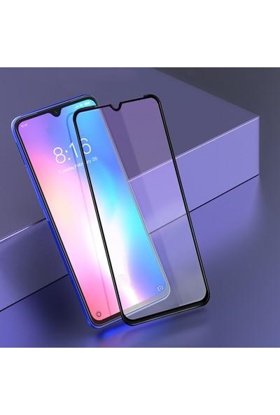 Tekno Grup Huawei Y7 Prime 2019 Tam Kaplayan 5D Cam Ekran Koruyucu - Şeffaf