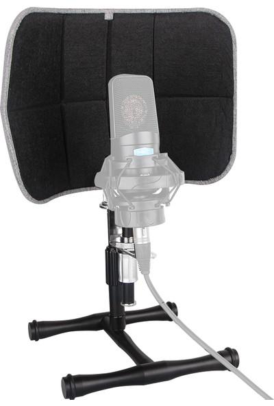 Alctron PF52 Masaüstü Studıo Soundshield Compact Akustik Mikrofon Paneli