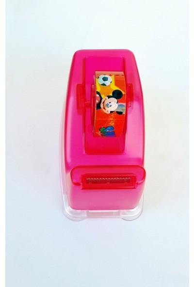 Flomo Disney Mickey Mouse Bant Makinesi ve 3'lü Bant Pembe