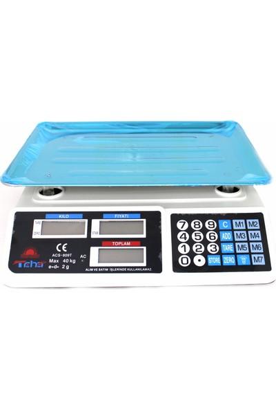 Taha 40 kg Elektronik Terazi Dijital Market Manav Bakkal Terazi