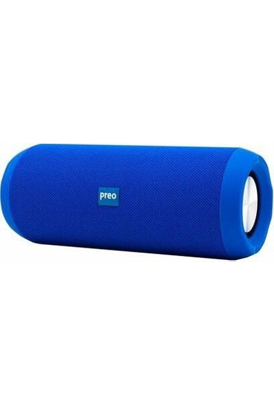 Preo My Music MM09 Mavi Bluetooth Hoparlör